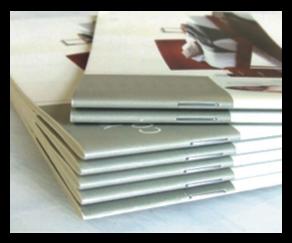 booklet Saddle Stitch @ Staple Binding