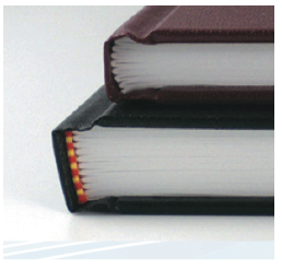 booklet Hardcover Case with Thread Sewn Binding